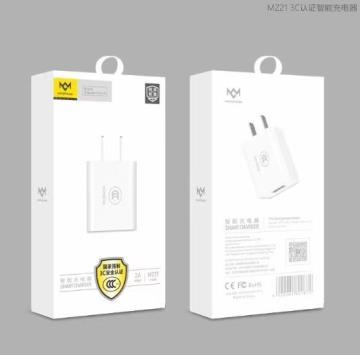 80简单·SL-K02 快速(3C认证/2.1A)充电头